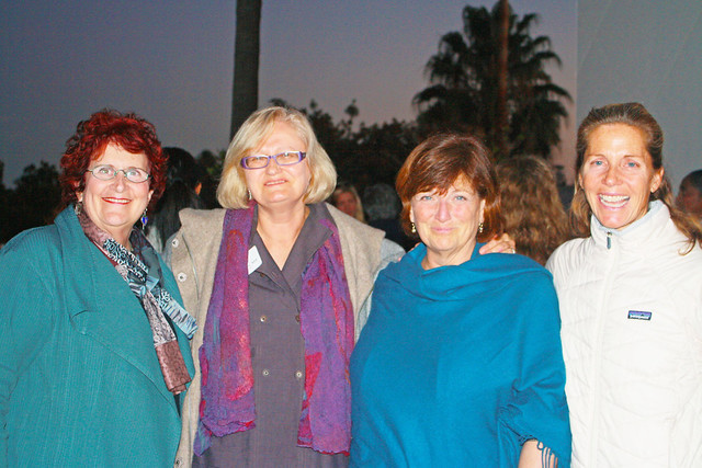 <p>President Nancy Leffert, PhD, President of AUSB; with Women & Leadership Faculty, from Left to Right: Carol Tisson, MA; Cindy Levine, MA; Polly Chandler, MEd</p>