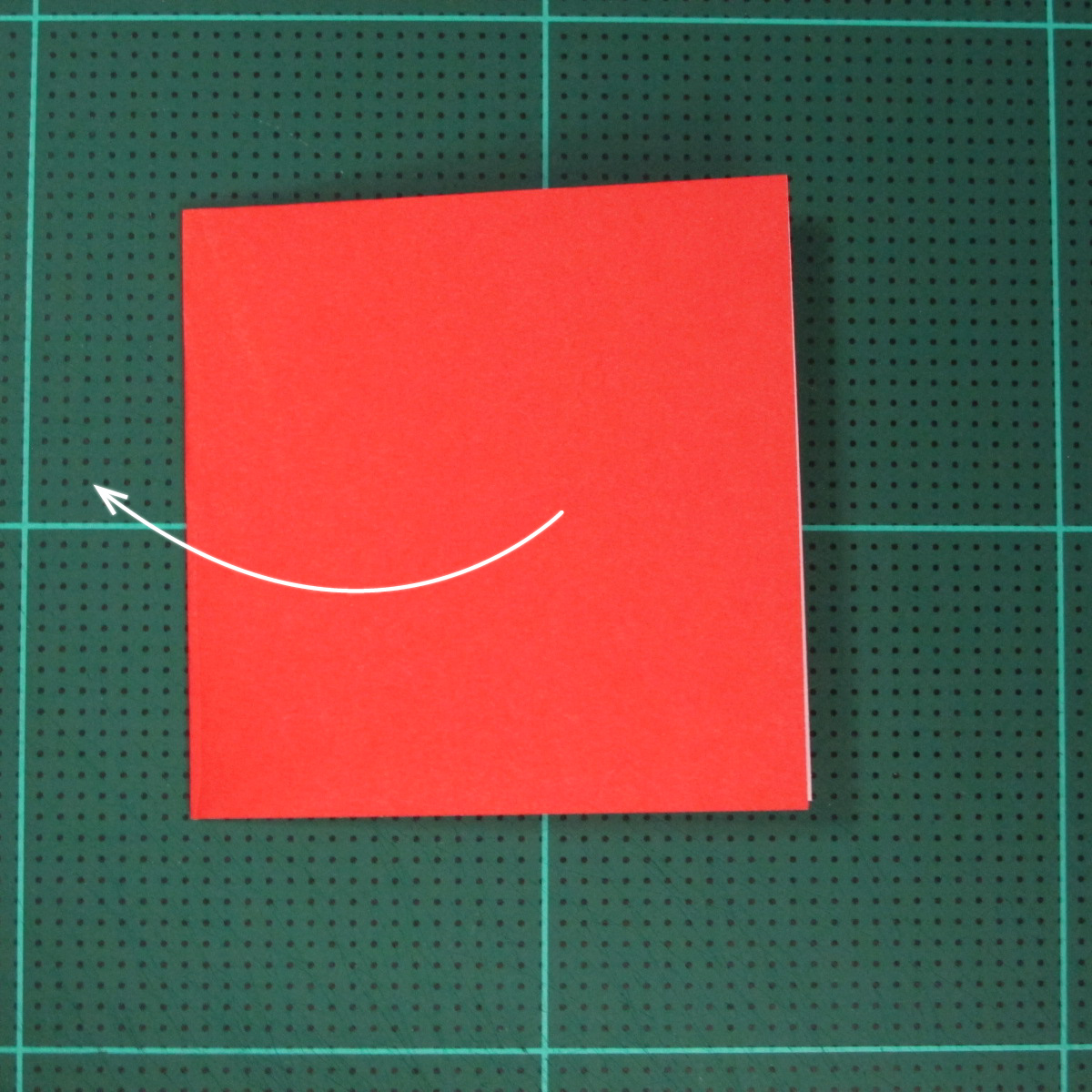 วิธีการพับกระดาษเป็นรูปเปียโน (Origami Piano) 003