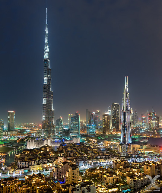 Dubai Downtown & Burj Khalifa