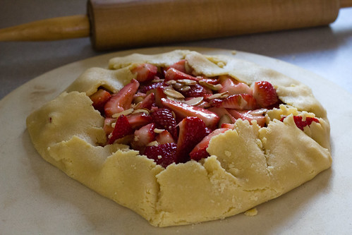 Strawberry Almond Galette