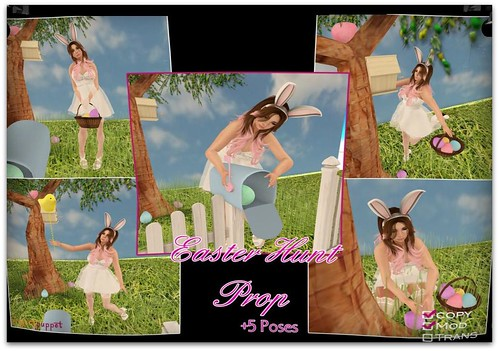 Group Gift: Easter Hunt Prop & Poses