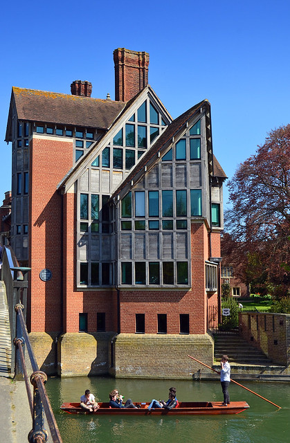 Jerwood Library / Trinity Hall