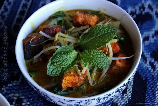 Roasted Pumpkin Laksa 2