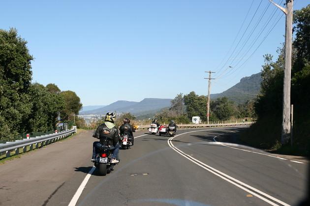 Follow the bikers