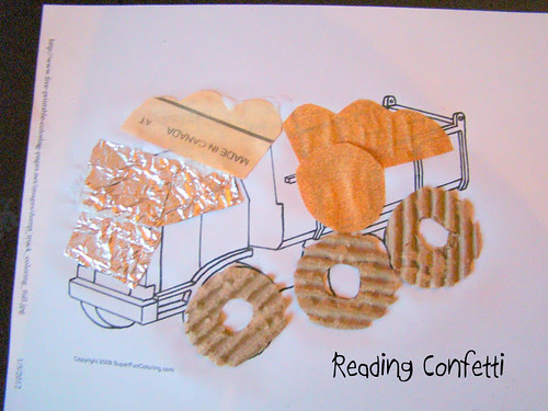 Touch and Learn Dump Truck (Photo from Reading Confetti)
