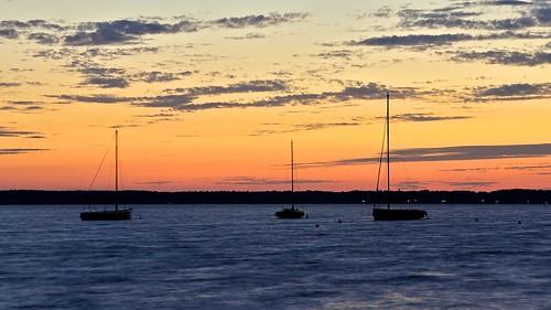 sunset sonnenuntergang segelboot steinhude steinhudermeer 100er d5100