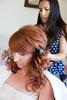 Iris getting her hair done by Ursula by bertrandom