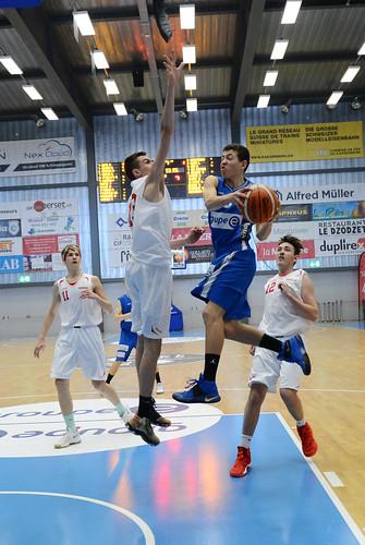 Grande Finale Fribourg Académie U16m -  Swiss Central Basket 2