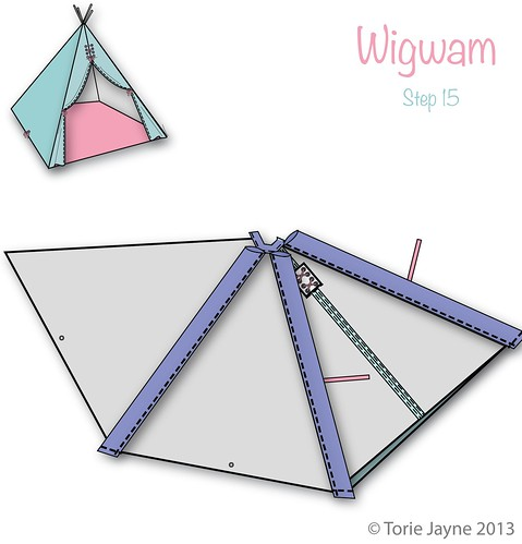 Wigwam Step 15