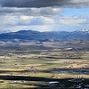 Panorama : the Carson Valley  View from the Kingbury Grade Road (207)