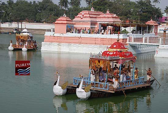 Dinachapa – Chandan Jatra at Narendra Sarobar