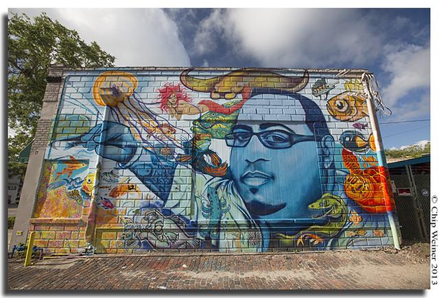 "Tribute to Artist Bill ""Woo"" Correira. St. Petersburg"