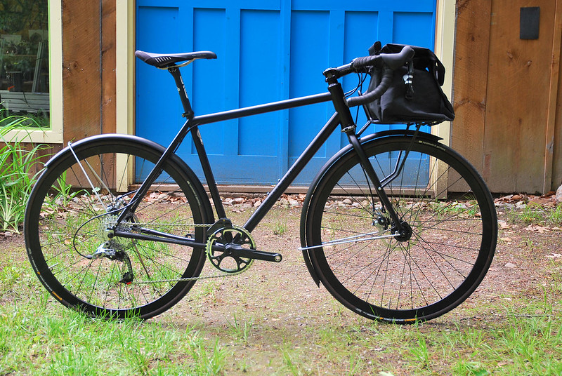 Chris's CXish Commuter : Custom Bag Mounted