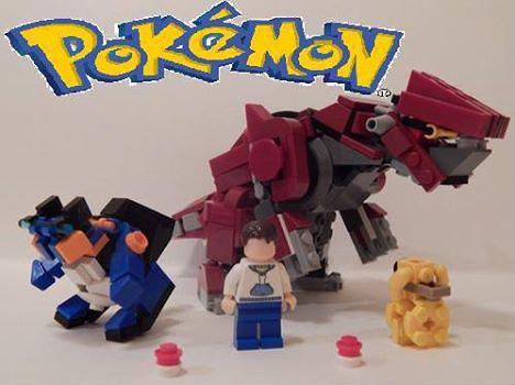 Lego pokemon groudon car interior design - Lego pokemon rayquaza ...