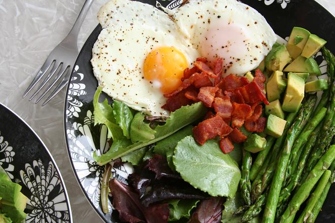 asparagus bacon salad 4