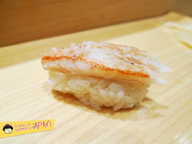 Sushi Bar YASUDA in Tokyo - Spider Crab