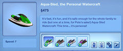 Aqua-Sled the Personal Watercraft