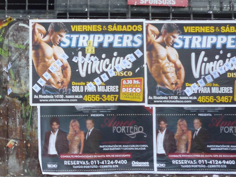 Stripper show only for women