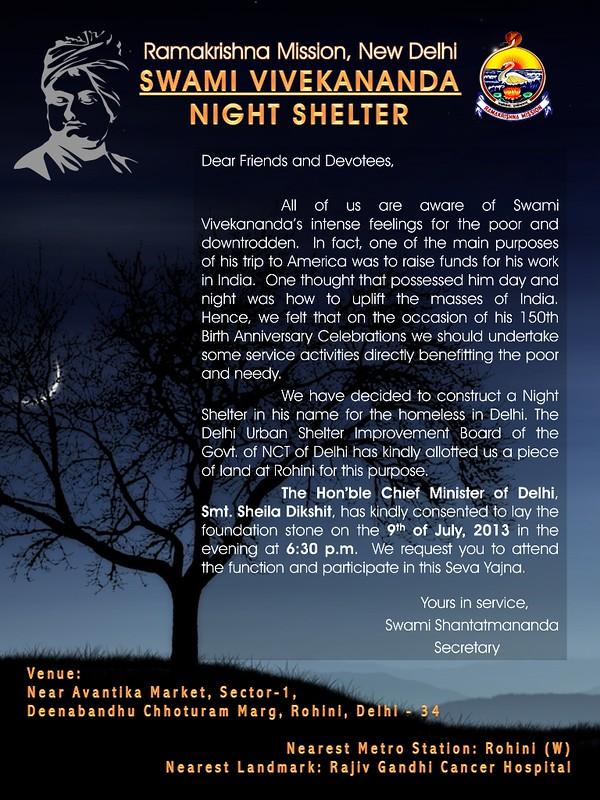 Swami Vivekananda Night Shelter