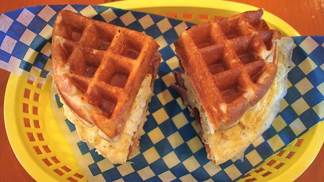 Miura Waffle Milk Bar | Davie Street @ Vancouver, BC