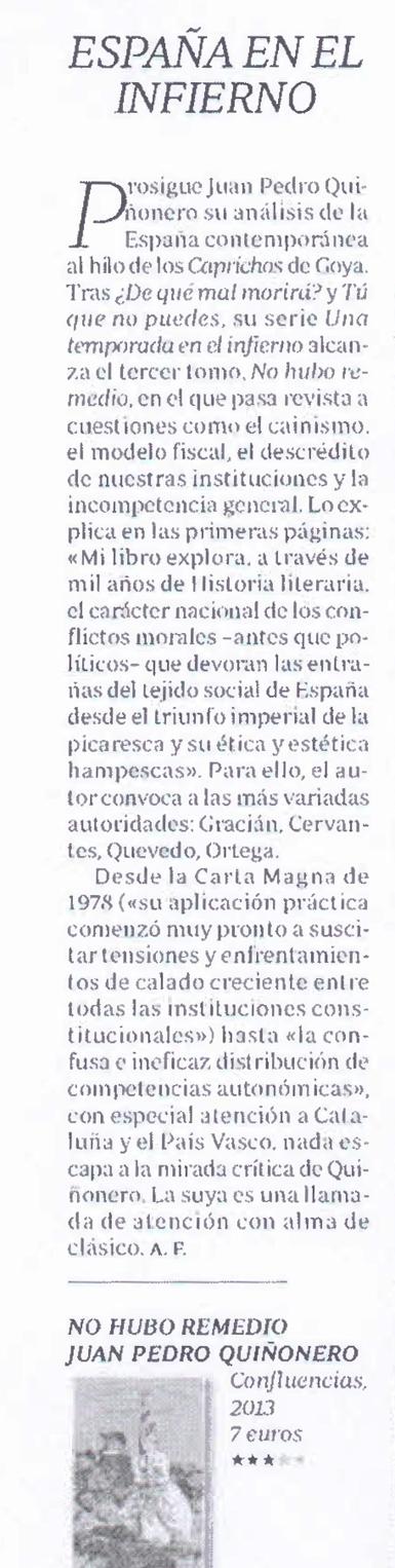 13g13 AF sobre 3er volumen España una temporada en el Infierno 2 Uti 385