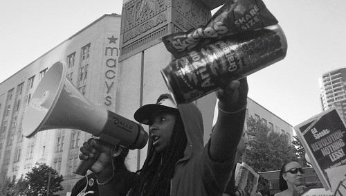 Trayvon Martin Rally in Seattle