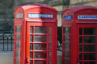 Qué ver en La Valeta: Cabinas telefónicas estilo colonial británico