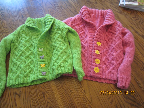 Sweaters for A1 & A2 by marie watterlond