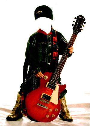 мальчик-гитарист