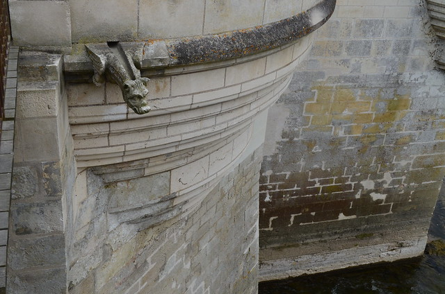 Chateau de Chenonceau stone and drain