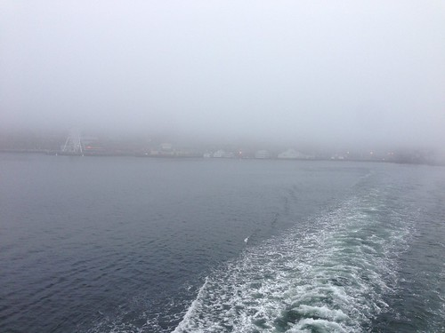 We're off! Foggy ferries! by gmwnet