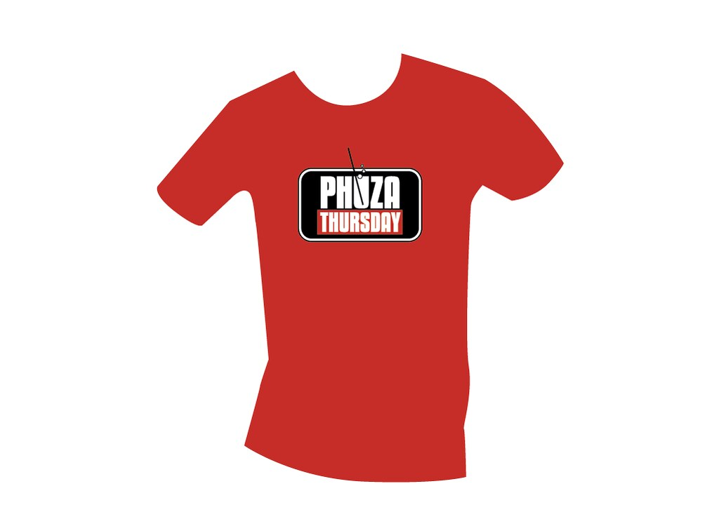 A phuza thursdat t-shirt design