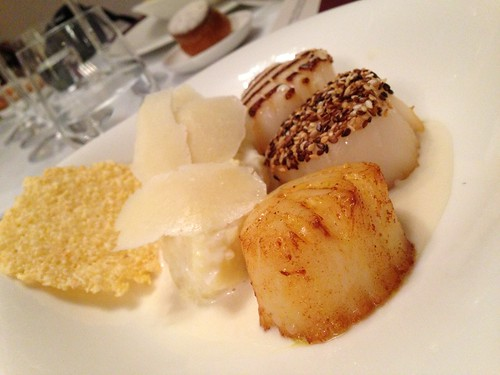 Scallops. Three ways. At Krug.