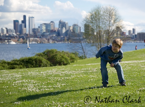 A Day at Gasworks Park 4