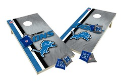 Detroit Lions Custom Cornhole Boards XL