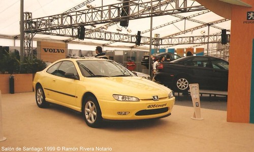 Peugeot 406 Coupé - 1999 Salón del Automóvil de Santiago