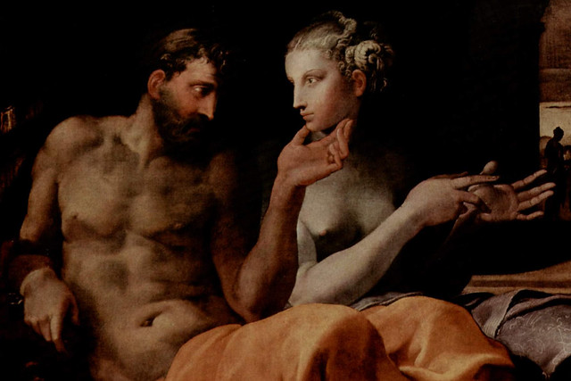 Odysseus and Penelope by Francesco Primaticcio, 1563. Courtesy The Yorck Project