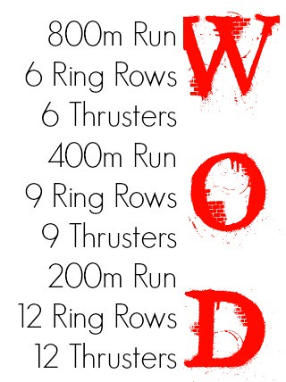thursday wod