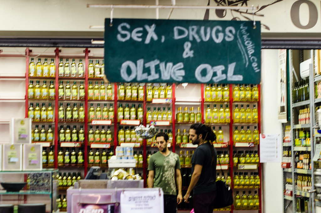 Sex, Drugs & Olive Oil