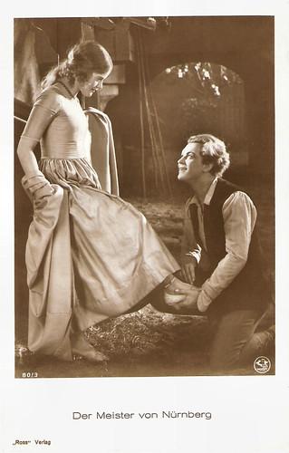 Gustav Fröhlich and Maria Solveg in Der Meister von Nürnberg