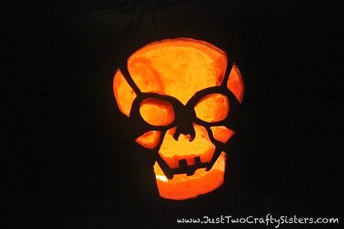 Carving pumpkins just two crafty sistersjust