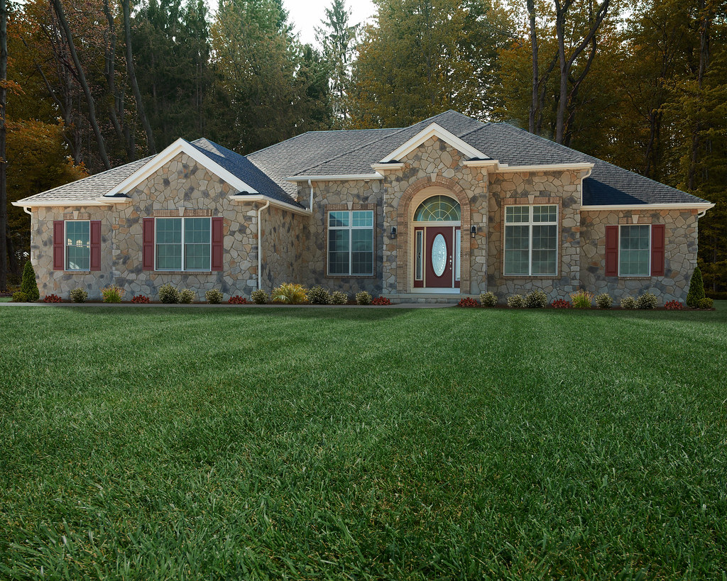 Wayne Homes Ranch Floor Plans: Alexandria Floor Plan: Ranch Custom Home
