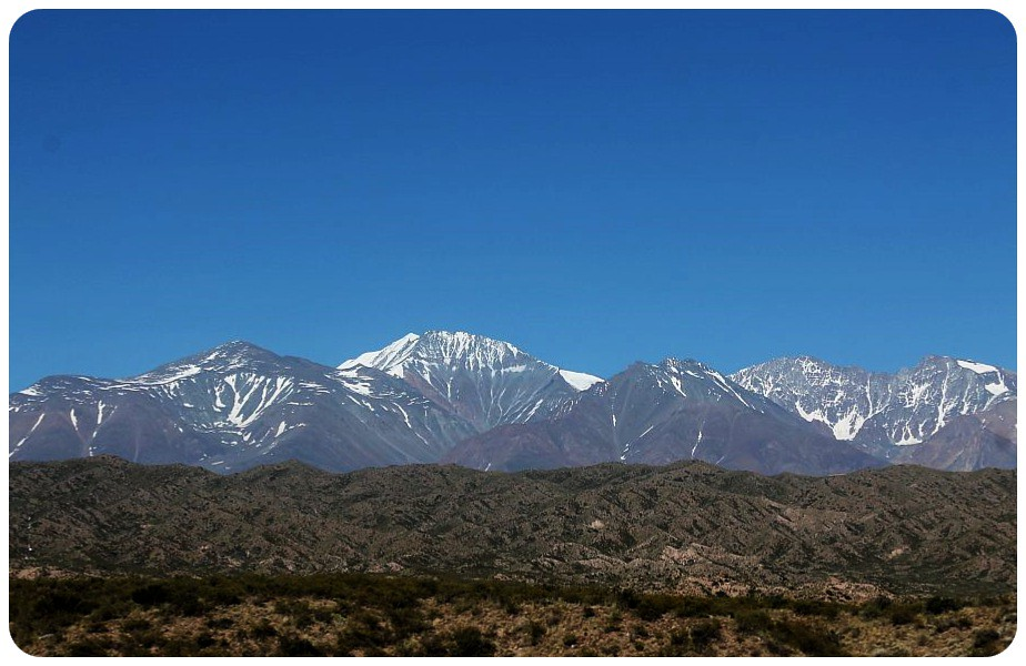8 andes mountains