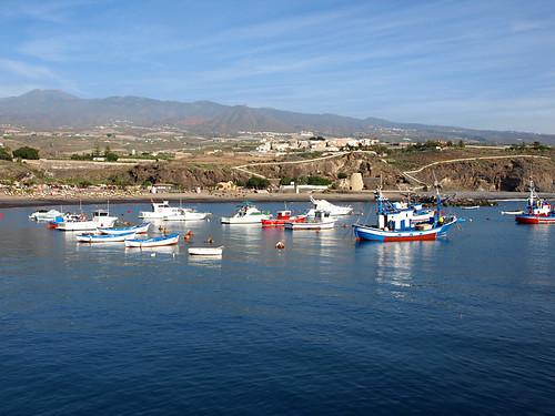 Harbour, Playa San Juan, Guia de Isora, Tenerife