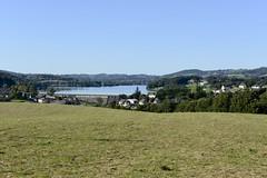 lac Villefranche de Panat vu de La Besse 33