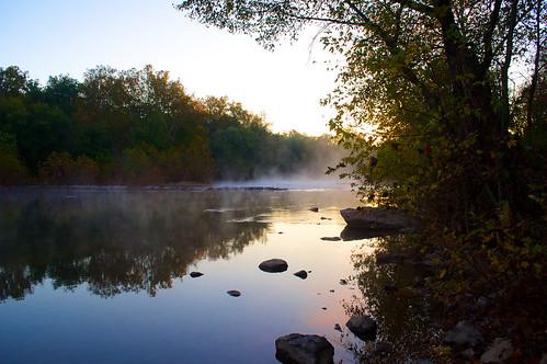 morning sunrise river md nikon maryland steam 1855mm nikkor monocacy 2013 buckeystown d5000 afsdxvrzoomnikkor1855mmf3556g nikond5000