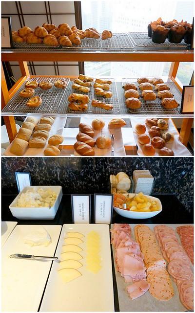 breakfast- Hilton Tokyo - shinjuku - exec lounge -005