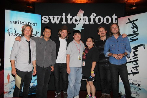 With Switchfoot in San Diego!