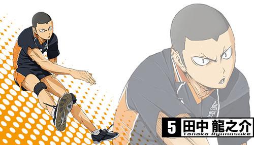 131120(2) - 2014年4月新動畫《ハイキュー!!》(排球少年)發表第二批「烏野高校」共3位角色造型&幕後聲優! 3 FINAL