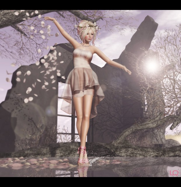 --Glam Affair - Vanity Feet - Ballerina for Shoetopia & Overhigh - Be Dress - Pink - 2